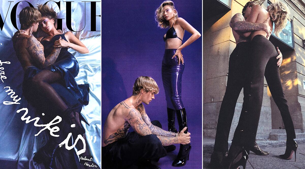 Justin Bieber and Hailey Bieber Get Mushy, Intimate and Romantic in their New Photoshoot for Vogue Italia (View Pics)