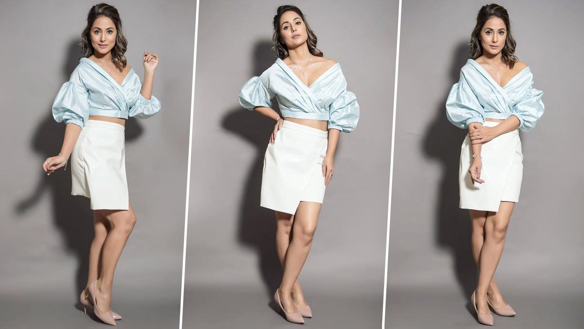 Hina Khan Spins a Fashion Web Through Her Recent Style Statement for Bigg Boss 14 (View Pics)