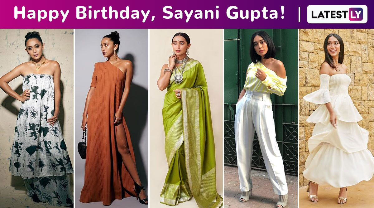 Sayani Gupta Birthday Special: Redefining Elegance As the Perfect Combination of Modesty, Lucidity and Occasional Experimentation With Every Style!