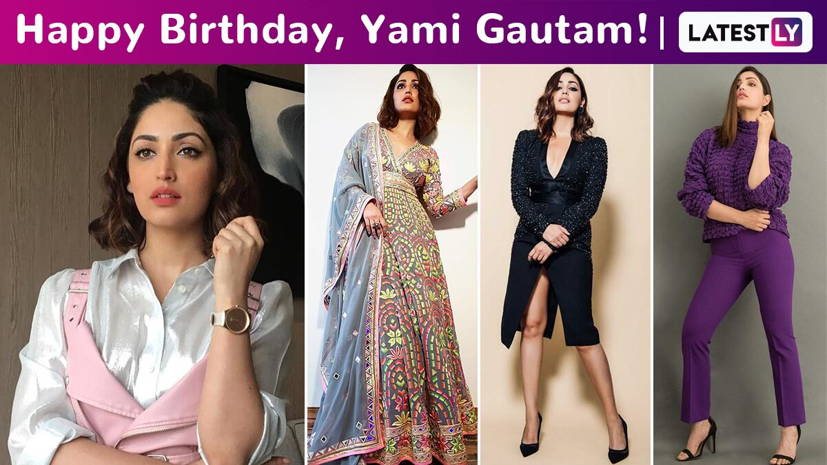 Yami Gautam Birthday Special: Edgy, Spunky, Sassy and Spirited Vibes Are the Constants of Her Versatile Fashion Arsenal!
