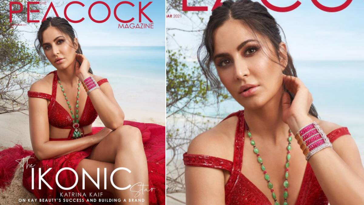 Katrina Kaif Sets the Maldives Beach on Fire As She Turns Cover Girl for The Peacock Magazine's New Issue!