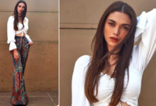 Aditi Rao Hydari's Sexy Bell Bottom Look Is a Must Have in Your Wardrobe This Summer (View Pics)