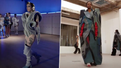 Paris Fashion Week 2021: 'COVID Generation' Student's Debut With 'Toxique, C'est Chic' Creepy yet Bold Designs Are Garnering Eyeballs at the Virtual Edition (Watch Video)