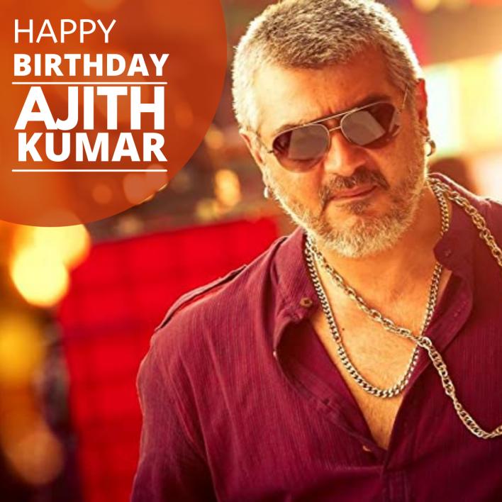 Ajith Kumar Birthday Images