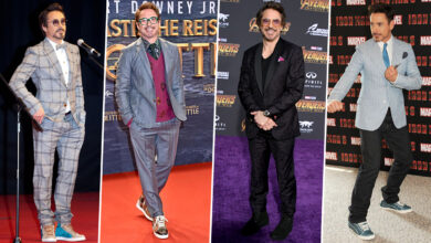 Robert Downey Jr Birthday: His Stylish Appearances That Are as Powerful as His Iron Man Suit!