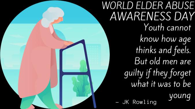 World Elder Abuse Awareness Day 2021 Theme