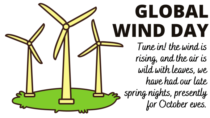 Global Wind Day 2021 HD Images
