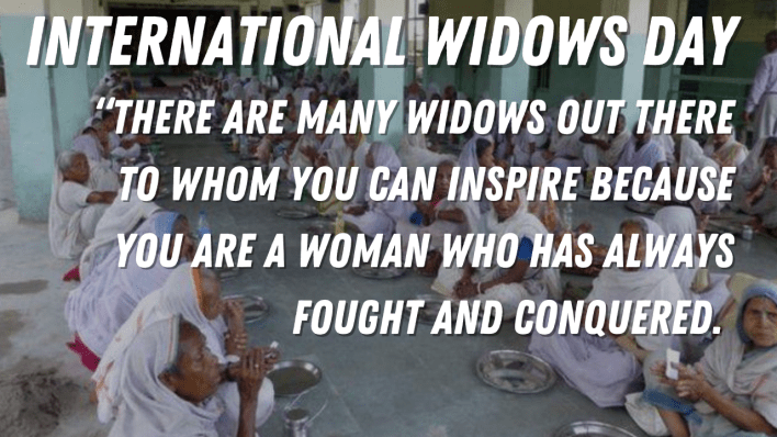 International Widows Day 2021