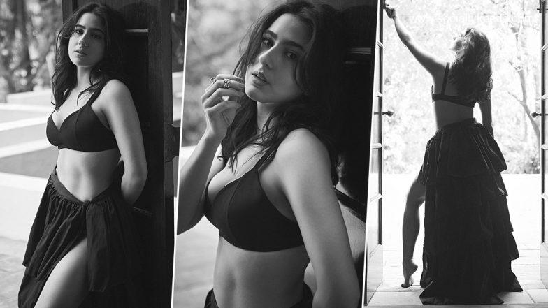 Sara Ali Khan Turns Muse for Rohan Shrestha, Shares Stunning Monochrome Pictures on Social Media (View Pics)